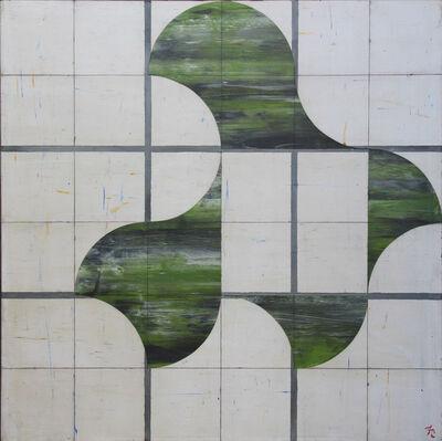 Francisco Castro Leñero, 'Juego de sombras verdes ', 2014