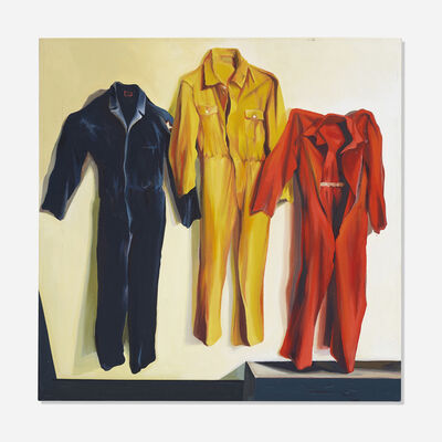 Lowell Nesbitt, 'Three Jumpsuits', 1974