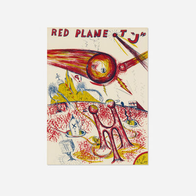 H.C. Westermann, 'Red Planet J', 1967