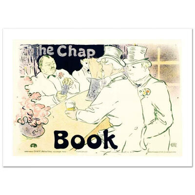 Henri de Toulouse-Lautrec, 'The Chap Book', 1895