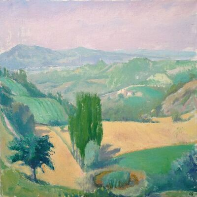 Langdon Quin, 'Toward Umbertide', 2011
