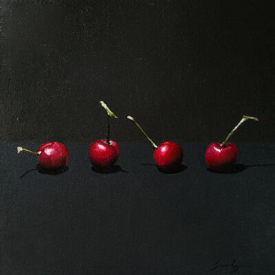 James Zamora, 'Four Cherries', 2018