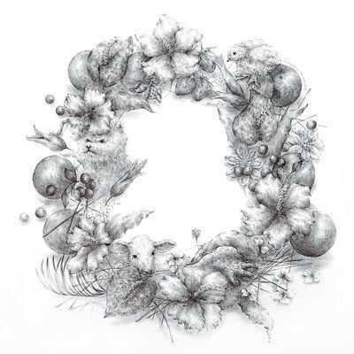 Joo Lee Kang, 'Wreath #4', 2017