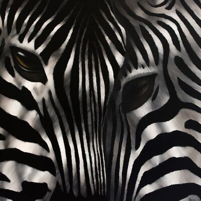 Norma Bessières, 'Zebra 'Rencontre'', 2016