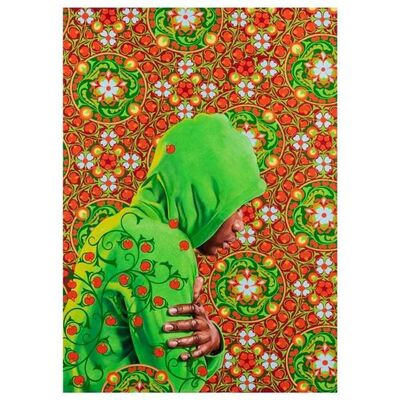 Kehinde Wiley, 'Kehinde Wiley 'Head of a Young Girl Veiled' Print, 2019', 2019