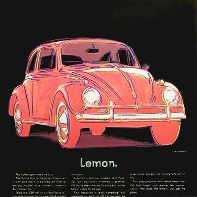Andy Warhol, 'Volkswagen', 1985