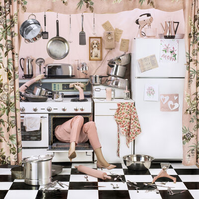 Patty Carroll, 'Cooking the Goose', 2017
