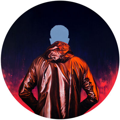 Sebastián Riffo Montenegro, 'Raincoat Circle I', 2018