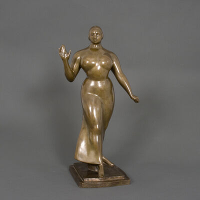 Gaston Lachaise, 'Woman Walking', 1922