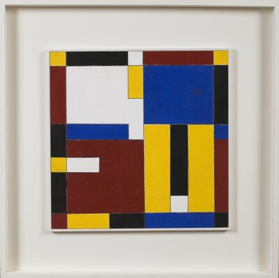 Charmion von Wiegand, 'Red, Yellow, Blue', 1959