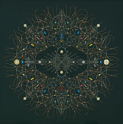 Leonardo Ulian, 'Technological Mandala #122 - itself radial', 2019