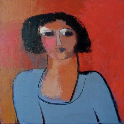 Sarah Picon, 'Vania à la Robe Bleue', 2014