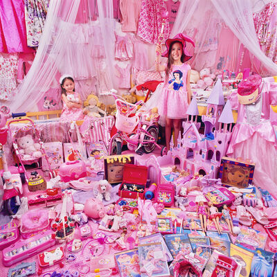 JeongMee Yoon, 'Charity & Hopey and Their Pink Things', 2011