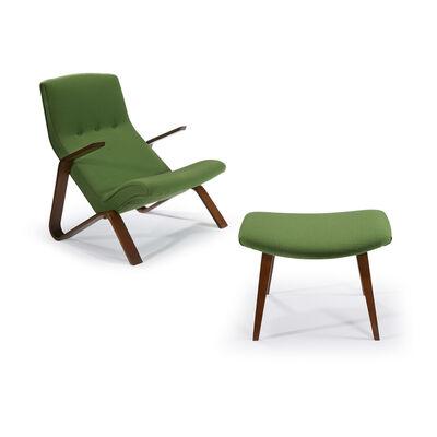 Eero Saarinen, 'Grasshopper Chair And Ottoman, Knoll Associates, USA', 1948 / C. 1965