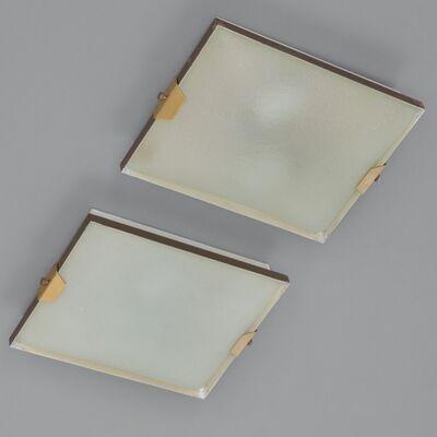Stilnovo, 'A pair of ceiling lights  '1122' model', 1960's