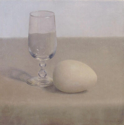 Kirstine Reiner Hansen, 'Egg and Glass', 2010