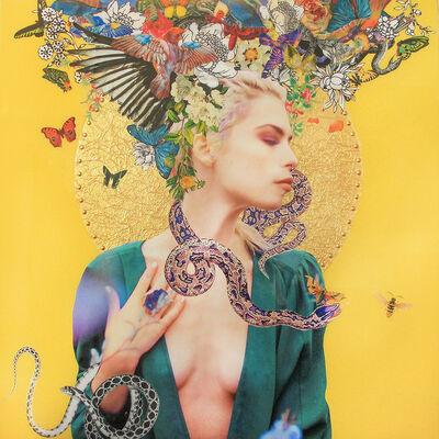 "Gillian Keller, '""Goddess of Opulent Pleasures""', ca. 2016"