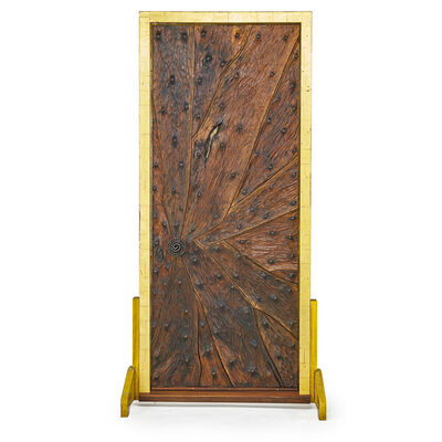 Phillip Lloyd Powell, 'Important entryway door, New Hope', early 1960s