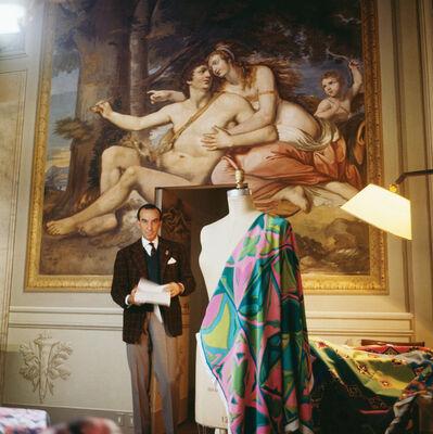 Horst P. Horst, 'Around That Time - Emilio Pucci', 1964