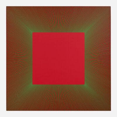 Richard Anuszkiewicz, 'Mystic Red', 2012