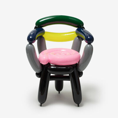 Seungjin Yang, 'PINK GREY BLACK BLOWING CHAIR 2', 2019