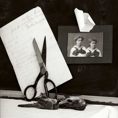 Zoë Zimmerman, 'Sisters/Scissors', 2005