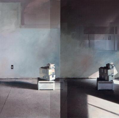 Jenny Brillhart, 'Styrofoam; 10:30am and 3:18pm (Late Winter)'