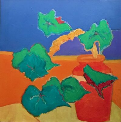 Sally Brody, 'LEAVES AND PITCHER', 2018