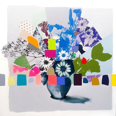 Emily Filler, 'Vintage Bouquet (Mint Dahlia)', 2020