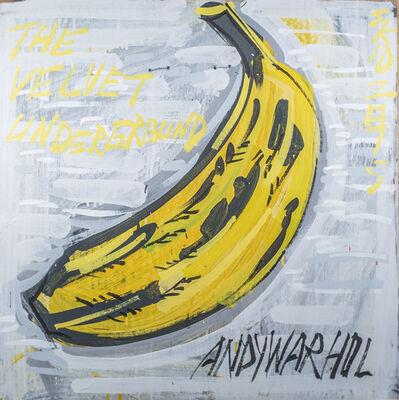 Steve Keene, 'The Velvet Underground - Andy Warhol', 2015