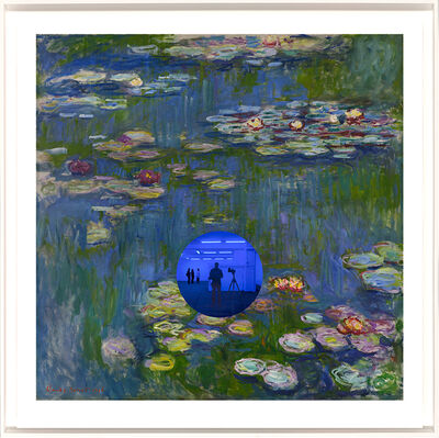 Jeff Koons, 'Gazing Ball (Monet Waterlilies)', 2018