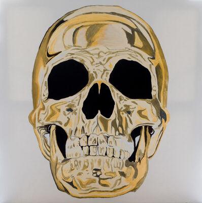 Louis-Nicolas Darbon, 'Gold skull', 2019