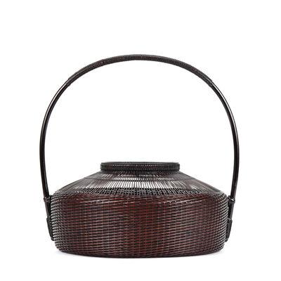 Tanabe Chikuunsai II, 'Fujisan Style Flower Basket with Tall Handle 17 445', 1910-2000