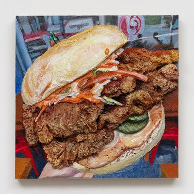 Gina Beavers, 'Seoul Bistro Fire Burger', 2020