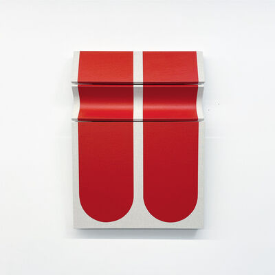 Robert William Moreland, 'Untitled Blunted Red Bars', 2021