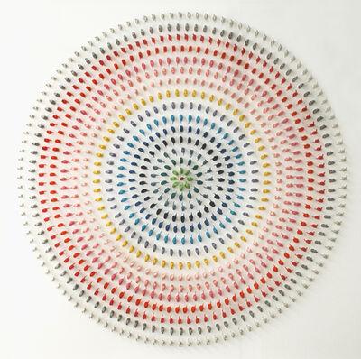 Paolo Ceribelli, 'White Target', 2019