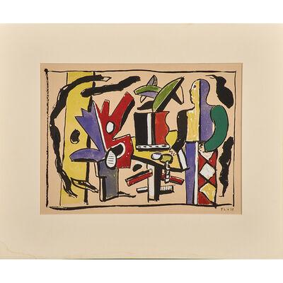 Fernand Léger, 'L'Artiste dans le Studio', 1953