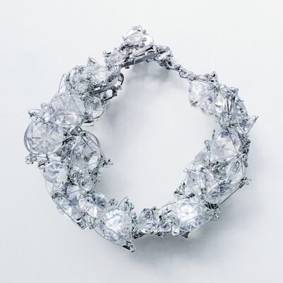 "Yumie Kusuda, '""Brilliant Diamonds""', 2020"