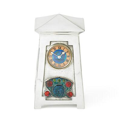 Archibald Knox, 'Liberty & Co., Fine Tudric Clock, England', ca. 1903-14