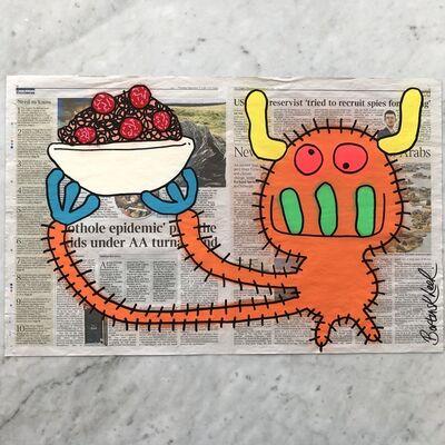 Bortusk Leer, 'Spaghetti Bolognese Monster', 2019