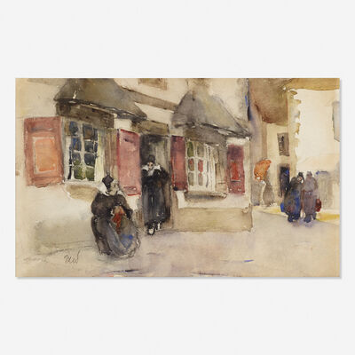 Martha Walter, 'Street in Brittany'