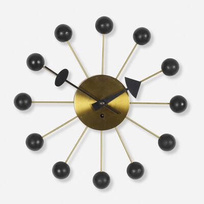 George Nelson & Associates, 'Ball wall clock, model 4755', 1949