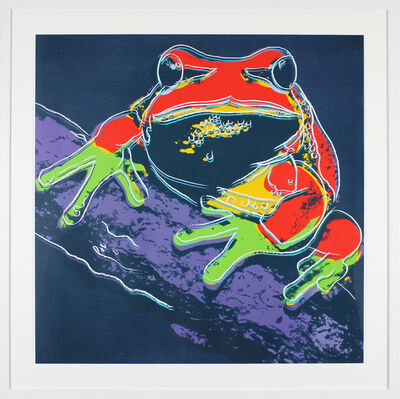 Andy Warhol, 'Pine Barrens Tree Frog (FS II.294) ', 1983