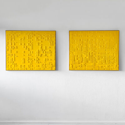 Anne-Sophie Øgaard, 'Yellow 0803/0804', 2020