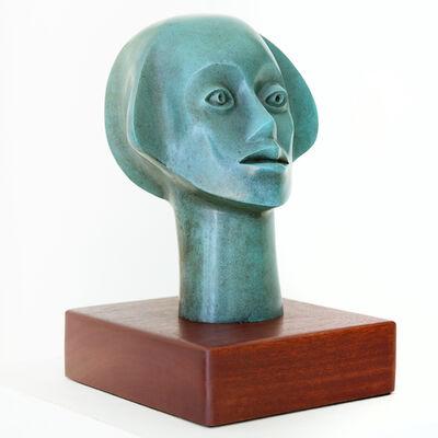 Elizabeth Catlett, 'Fluted Head', 1991