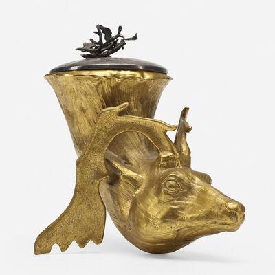 Gabriella Crespi, 'Stag champagne bucket', c. 1975