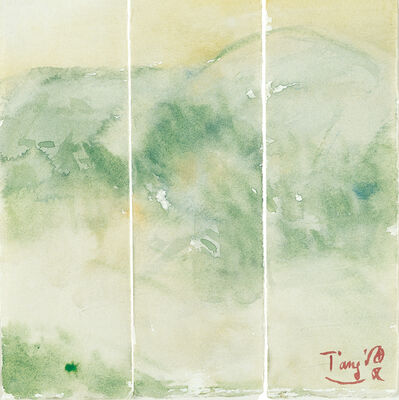 T'ang Haywen 曾海文, 'Untitled No. 12, Triptych', ca. 1980s
