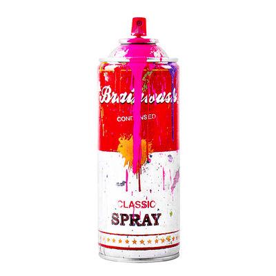 Mr. Brainwash, 'SPRAY CAN (Pink)', 2013