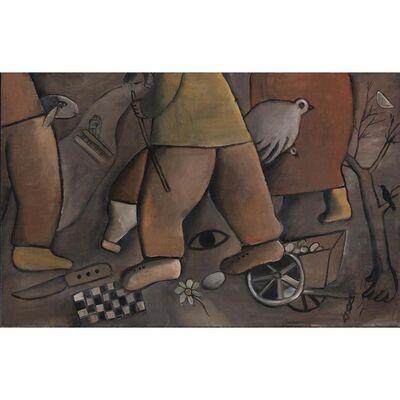 José Gurvich, 'Imágenes del Kibutz ', 1969