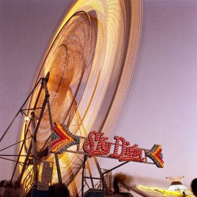 Jeff Brouws, 'Skydiver (Magenta), Santa Maria, California,', 1988
